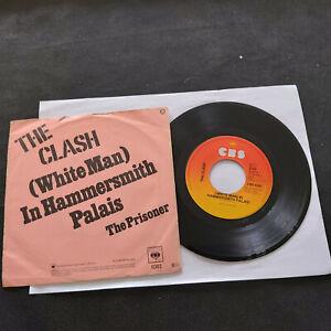 EU SP 1978 THE CLASH (White Man) In Hammersmith Palais / The Prisoner - CBS 6383
