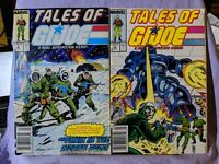 Tales Of G.I. Joe A Real American Hero Comic Lot Issues # 2 & # 3 Marvel Readers