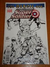 SUPER SOLDIER STEVE ROGERS #2 VARIANT MARVEL HEROIC AGE 2ND PRINT