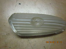 1949 FORD  PARKING LIGHT LENS GLASS SEMI FROSTED NOS