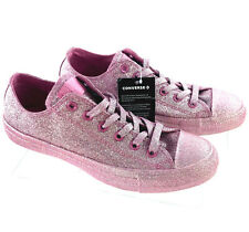 Converse All Star Chuck Taylor Pink Glitter Sparkle Shoes Size Womens 11 Mens 9