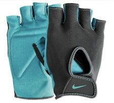 NIKE Fundamental Training Gloves II Womens Size M - Dark Grey/Clear Jade