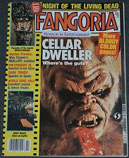 FANGORIA MAGAZINE ISSUE #71 Feb. 1988 BRAIN DAMAGE! CELLAR DWELLER! DEEP SPACE!