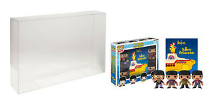 1 x 0.5mm POP Protector For Funko POP 4-pack The Beatles