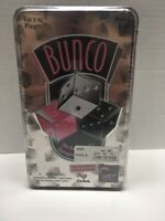 NEW Bunco game with Bell in Tin Case See Description & Photos