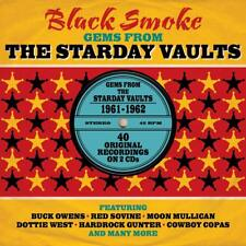 Black Smoke-Gems From The Starday Vaults 1961-1962 2-CD NEW SEALED Country