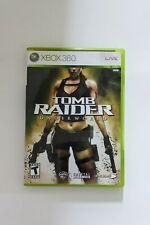 New listing Tomb Raider Underworld Cib Xbox 360 (A4) Tested