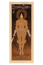 Joan of Arc VINTAGE POSTER Georges de Feure France 1896 24x36 RARE HOT NEW