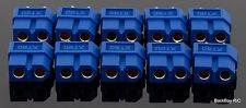 (10) Blue Female XT60 / XT-60 Battery Bullet Connectors - Genuine AMASS