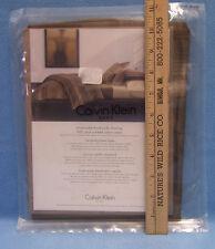 NEW Calvin Klein Brushstroke Standard Sham 100% Pure Combed Cotton Sateen