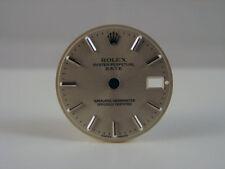 Original Ladies ROLEX DATE Silver DATE Stick Dial
