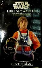 Star Wars Luke in X-Wing Gear Gentle Giant Deluxe Bust Statue new 2005