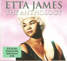 ETTA JAMES THE ANTHOLOGY - 3 CD BOX SET - AT LAST, DREAM & MANY MORE