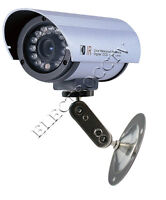 "14 LED Sharp 1/3"" CCD IR Bullet Color CAMERA NIGHT Vision Indoor Outdoor 420 TVL"