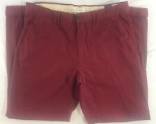 Label Of Graded Goods L.O.G.G. Womens Maroon Slim Fit H&M Pants Size 36