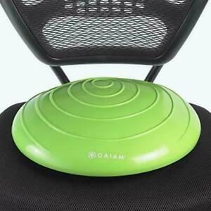 Gaiam Balance Disc Wobble Cushion Stability Core Trainer For Home Or Office Desk