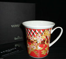 """VERSACE BY ROSENTHAL, GERMANY  """"BRIGHT CHRISTMAS"""" MUG WITH HANDLE."""