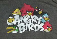 Angry Birds Video Game gray t shirt XL NEW X-Large 08152019