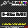 HEMI Custom Vinyl sticker Laptop Car Window Bumper Dodge Cuda Plymouth Toolbox