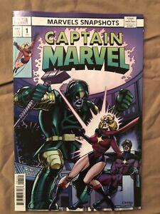 Marvel Snapshots Captain Marvel 1 Variant Hidden Gem cover 1:50 Dave Cockrum