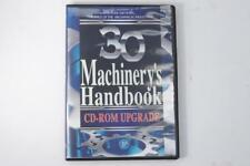 New 30th Edition Machinery's Handbook UPGRADE ONLY PDF Book on CD