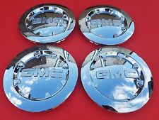 "4 PCS 2007-2013 GMC SIERRA 1500 YUKON XL DENALI Chrome Center Cap 20"" # 9596381"