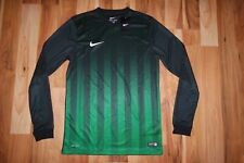Nike Soccer Men's Striped Division Ii Ls Dri-Fit Jersey Shirt Top 725886 013 M