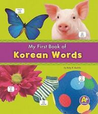 My First Book of Korean Words (A+ Books)-ExLibrary