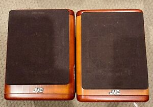 JVC SP-UX7000 4ohm 20 Watt Wood Cherry Passive Mini Bookshelf Speakers (Pair)