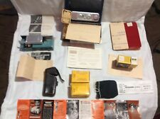 Vintage Minox B Spy Camera With Flash.original Paperwork Boxes And RECEIPTS.