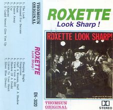 "ROXETTE ""LOOK SHARP"" K7 TAPE CD + BONUS DEMO/ MADE IN INDONESIA !! +++  RARE ++"