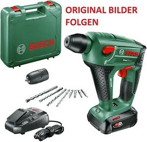 Bosch Uneo Maxx 18V Akku Schlagbohrhammer inkl. original Akku + original Koffer