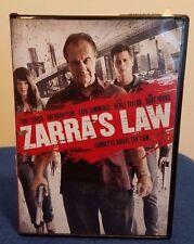 Zarra's Law DVD Tony Sirico Brendan Fehr Erin Cummings Burt Young