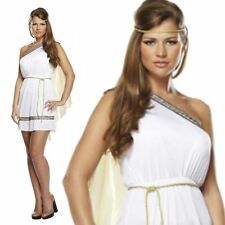 Adult Caesar Toga Greek Roman Fancy Dress Costume Outfit Goddess Grecian Julius Ladies
