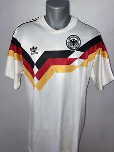 DFB Deutschland ADIDAS Trikot Gr. L WM 1990 90 **RAR** kein Retro!