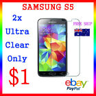 LCD HQ Ultra Clear Screen Film Display Protector Samsung Galaxy S5 Au Post