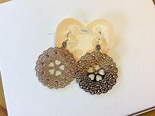 $54 Brighton Day Dreamer Gold Heart Earrings 213 (2)