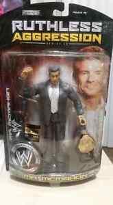 Vince McMahon 1 of 500 World Belt WWE Jakks Ruthless Aggression 28 Chase figure