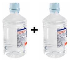 Baxter 0.9% Sodium Chloride Irrigation, USP 1000 mL 2 Bottles 2019-20 Exp Dates