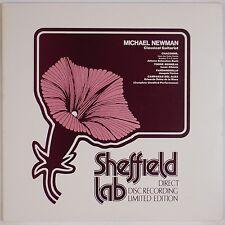MICHAEL NEWMAN: Classical Guitar SHEFFIELD LAB Direct Disc Audiophile LP NM