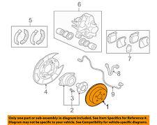 MITSUBISHI OEM 03-05 Lancer Rear Brake-Rotor MR370724