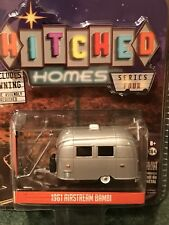 Greenlight  Hitched Homes Series 4 1961 Bambi Airstream camper  w/awning