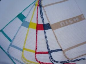 Waffle Dish Cloths x 6. The original, The Best Dish Cloths Ever. 100% Cotton