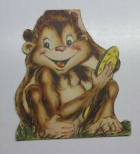 1949 Vintage Valentine - Monkey - Unused