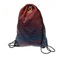 West Ham United Utd Fc Drawstring Gym Bag Sports Swimming School