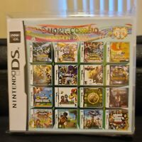 208 in 1 Nintendo 3DS DS Multi Cart With Fast Free Shipping