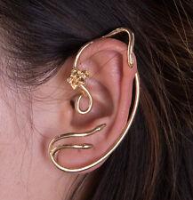Beauty and the Beast Stud Jewellry Belle/Emma Watson Earrings Ear Cuff Gold Rose