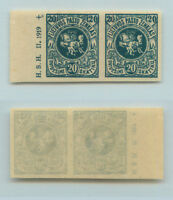 Lithuania 🇱🇹 1919 SC 42 MNH imperf pair . rta9304