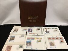 United Nations UNICEF Flag Series Albums W Stamps First Day Issue Cover Art 1984