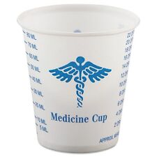 Solo Cup Company Wax-Coated paper Graduated Medicine Cup - R3
